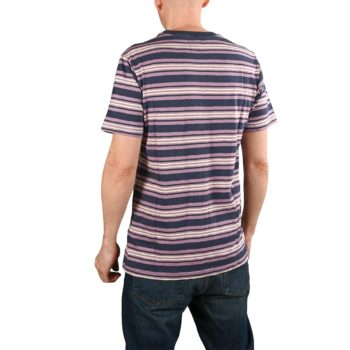 RVCA Damian Crew S/S T-Shirt - Moody Blue