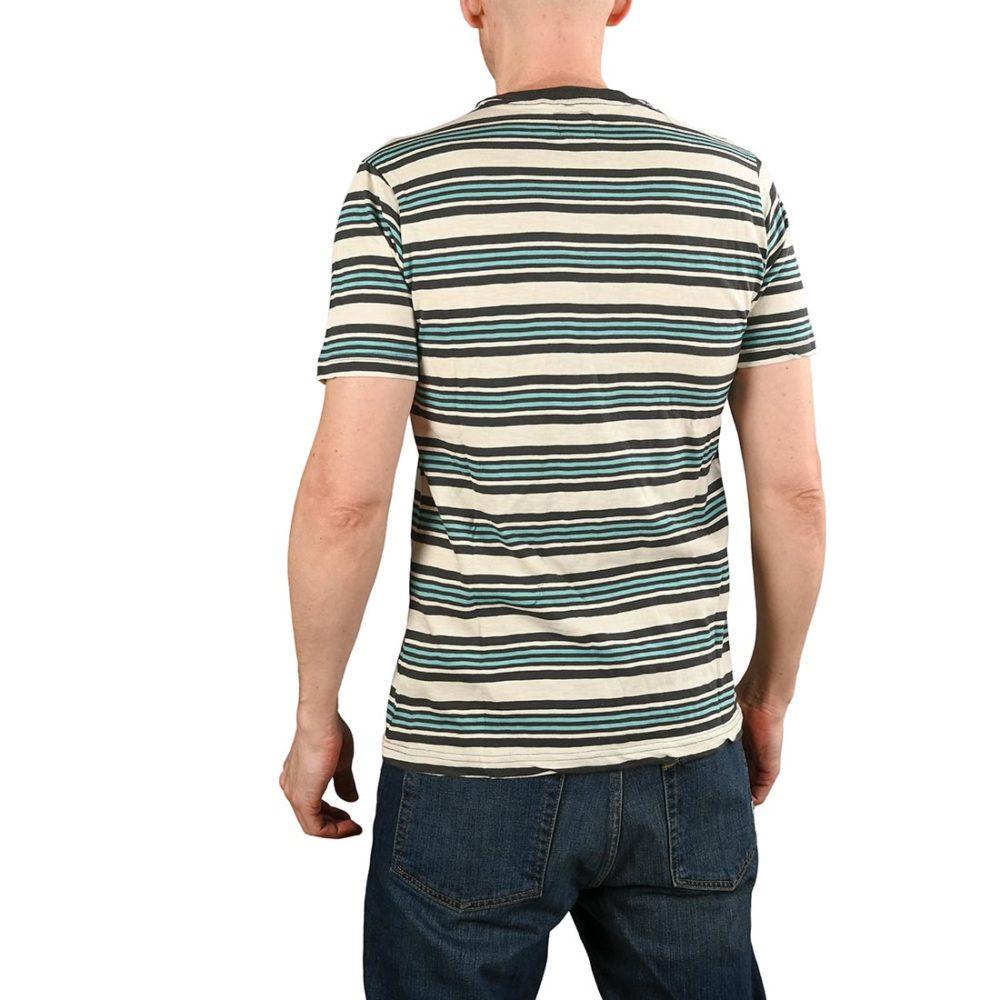 RVCA Damian Crew S/S T-Shirt - Silver Birch