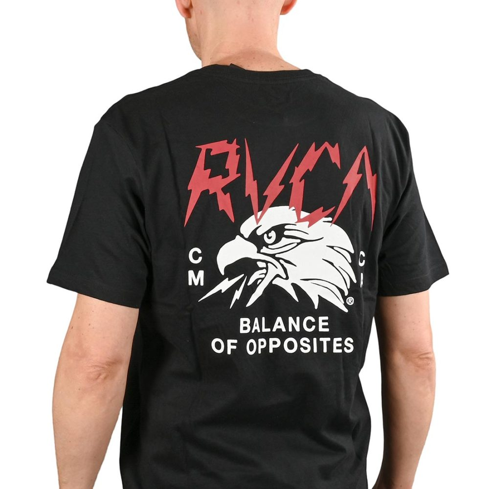 RVCA Parker S/S T-Shirt - Black