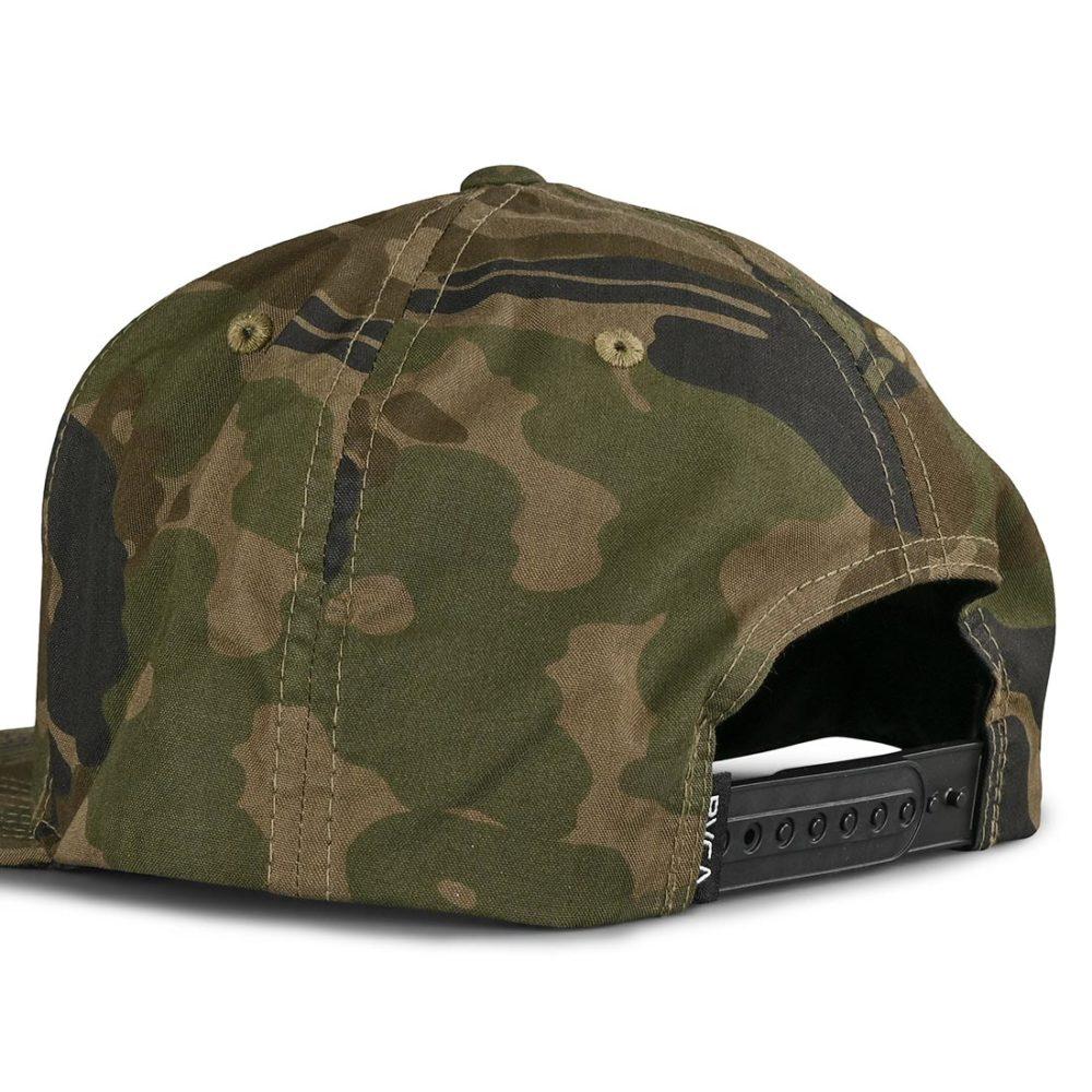 RVCA VA Patch Snapback Cap - Camo