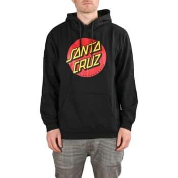 Santa Cruz Classic Dot Pullover Hoodie - Black