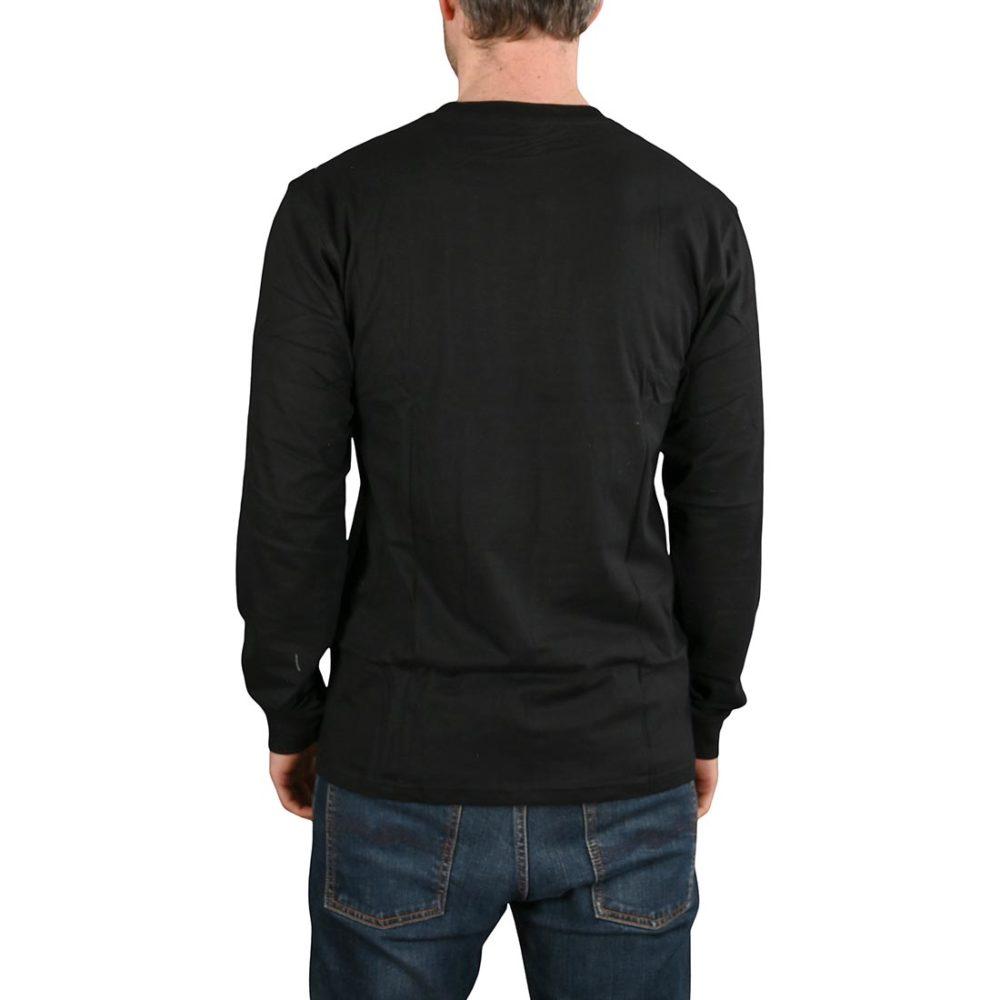 Santa Cruz Classic Dot L/S T-Shirt - Black