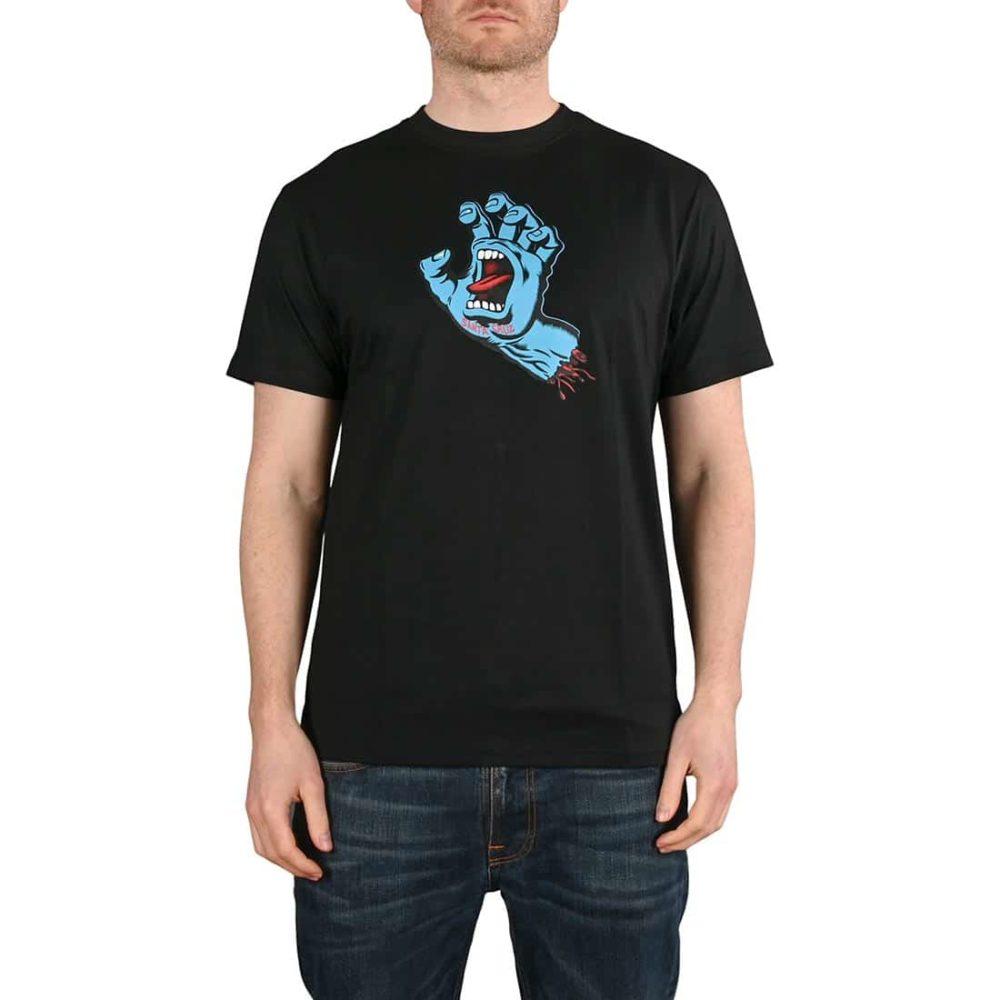 Santa Cruz Screaming Hand T-Shirt - Black