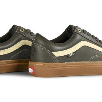 Vans Old Skool Pro Dennis Enarson BMX Shoes - Olive / Gum