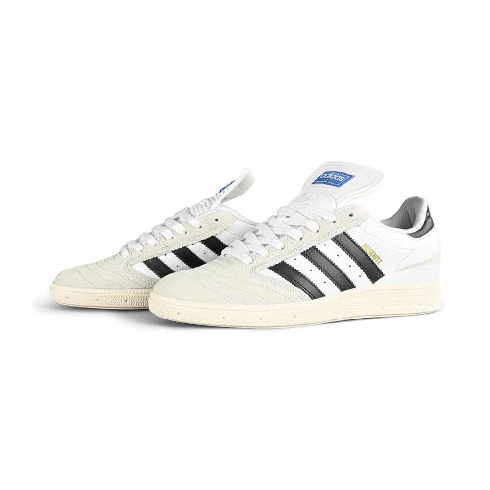 Adidas Busenitz Skate Shoes - Cloud white / Core Black / Crystal White