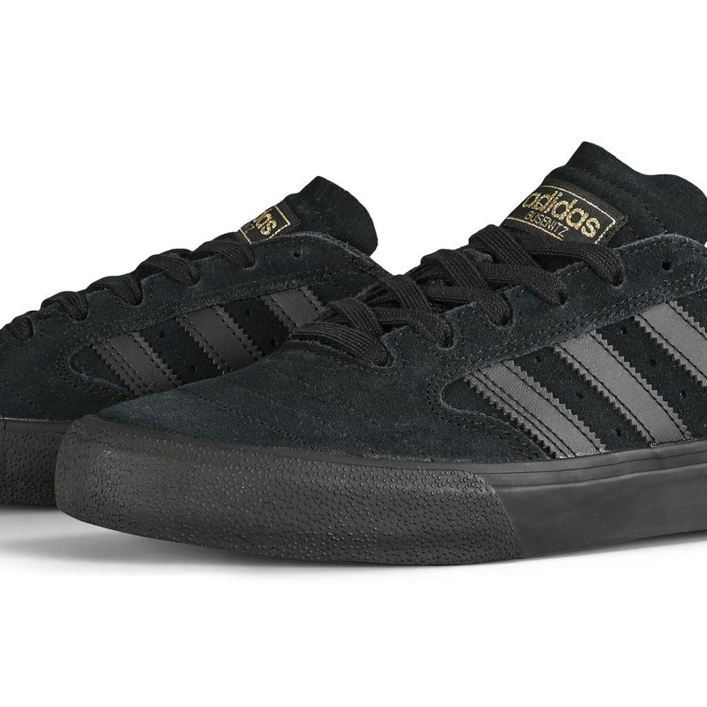 Adidas Busenitz Vulc II Shoes - Core Black / Core Black / Gum