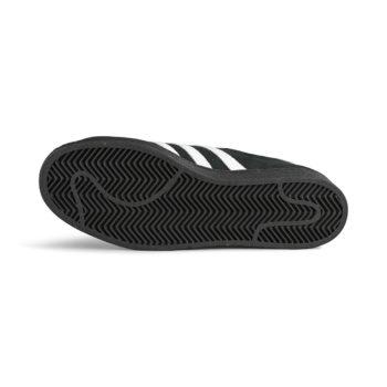 Adidas Superstar ADV Skate Shoes - Core Black / White / Gold Metallic