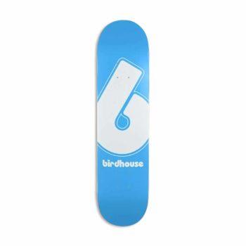 "Birdhouse Giant B Logo 7.75"" Skateboard Deck - Blue"