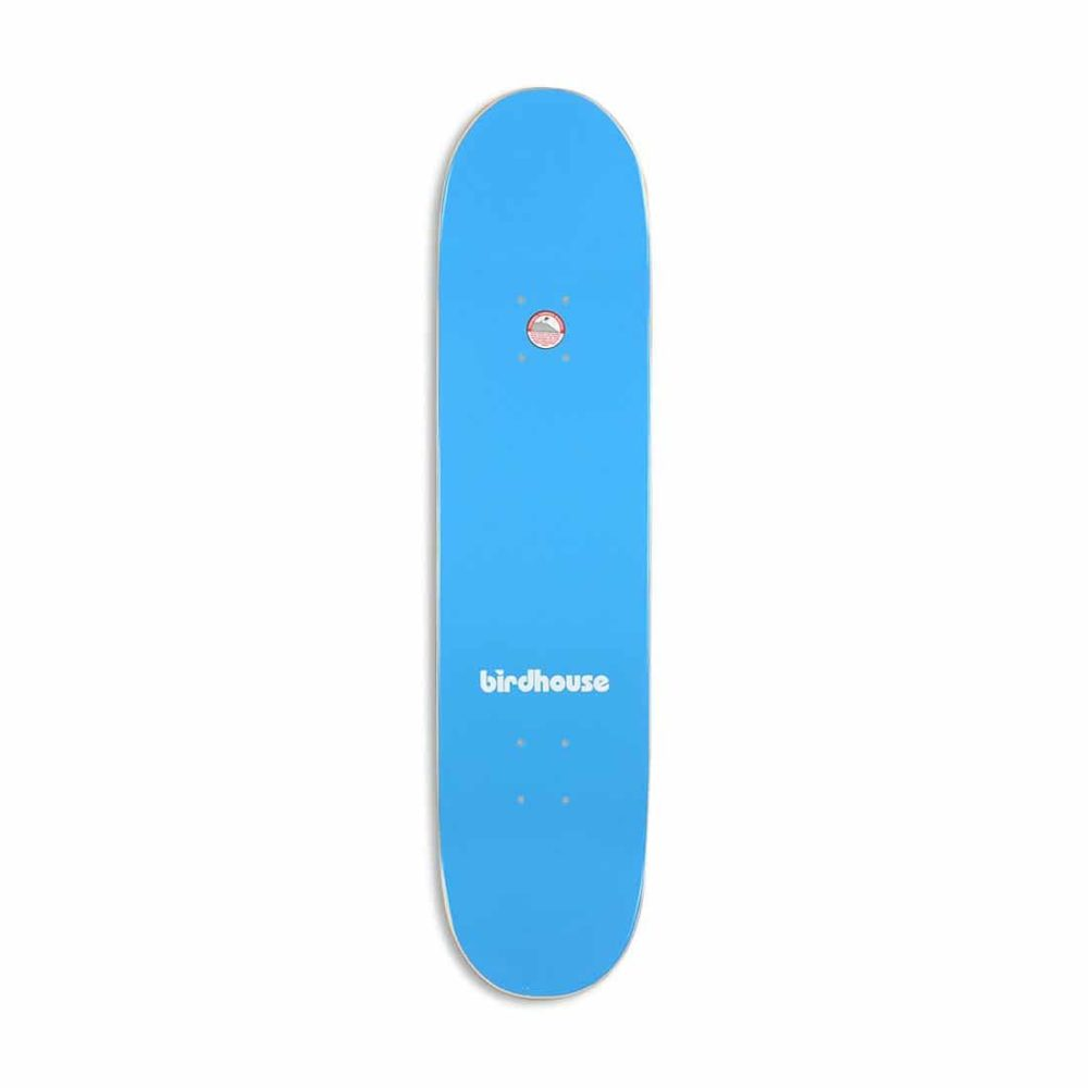 "Birdhouse Giant B Logo 7.75"" Skateboard Deck - Blue"