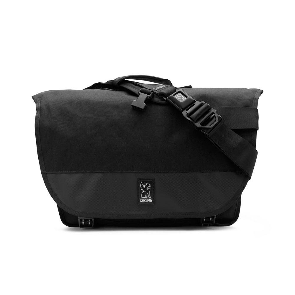 Chrome Buran II 26L Messenger Bag - Black / Black / Black