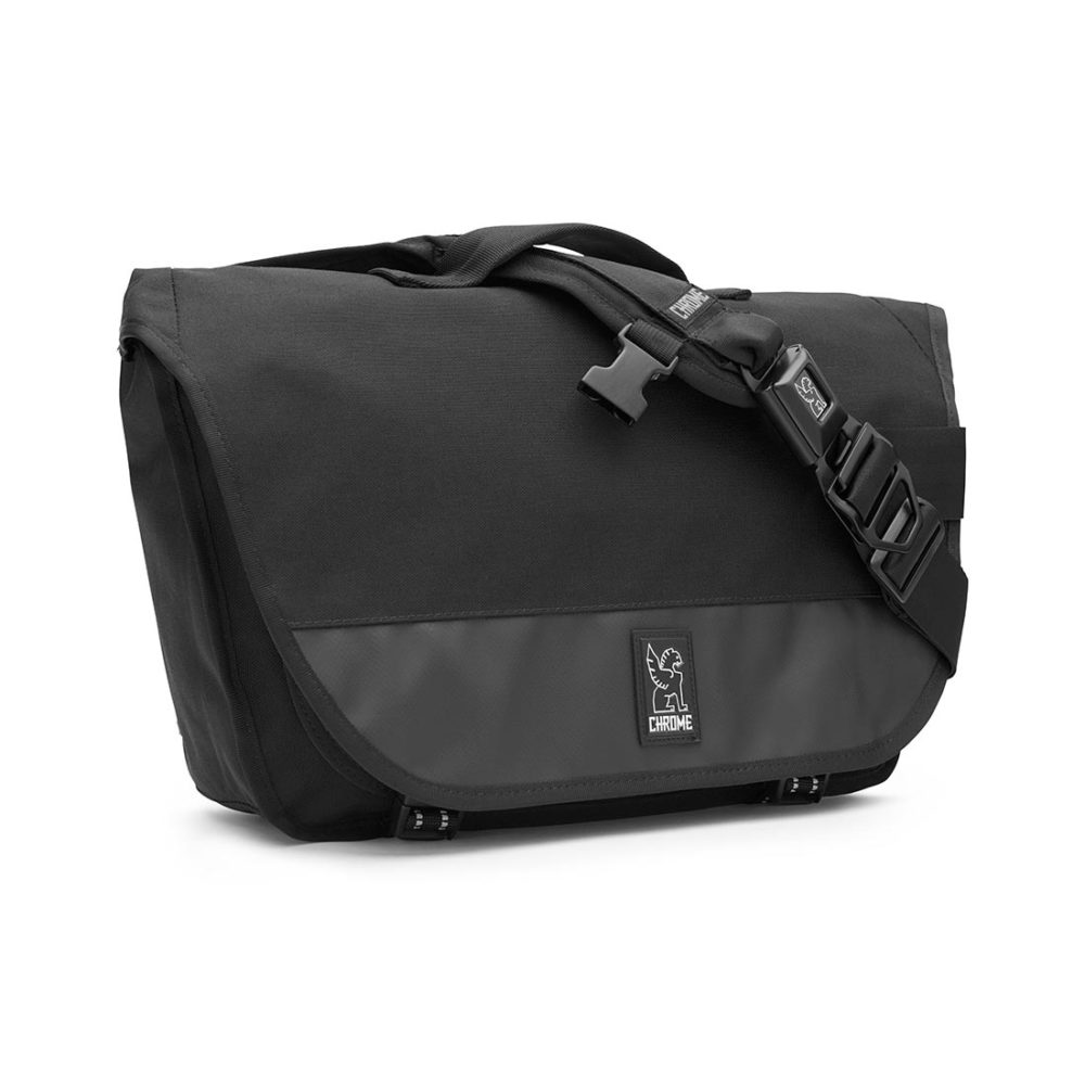 Chrome Mini Buran 15L Messenger Bag - Black / Black / Black