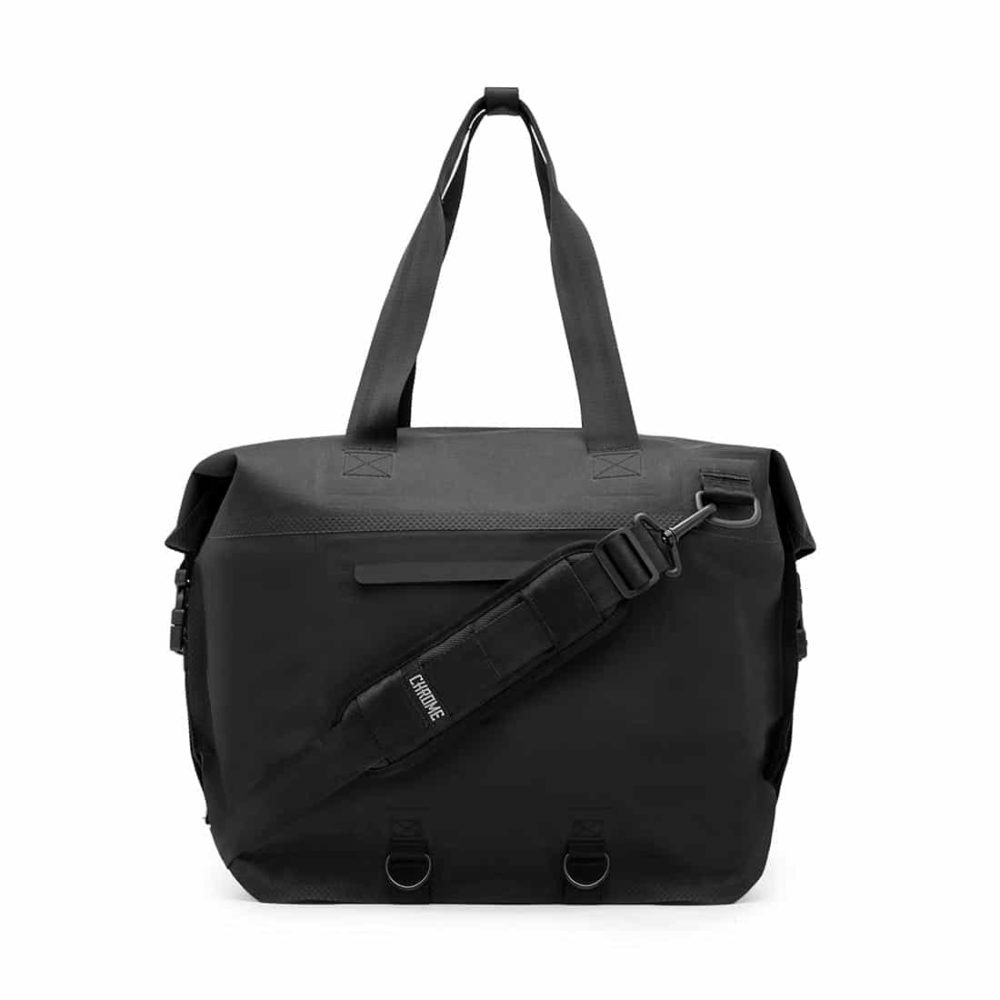 Chrome Urban Ex Rolltop 40L Tote Bag - Black / Black