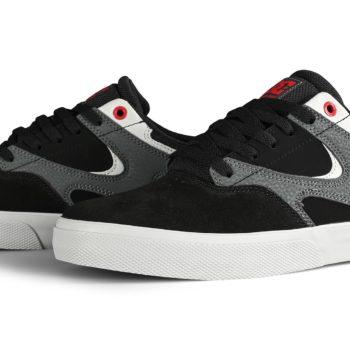 DC Shoes Kalis Vulc - Black / Athletic Red / Black