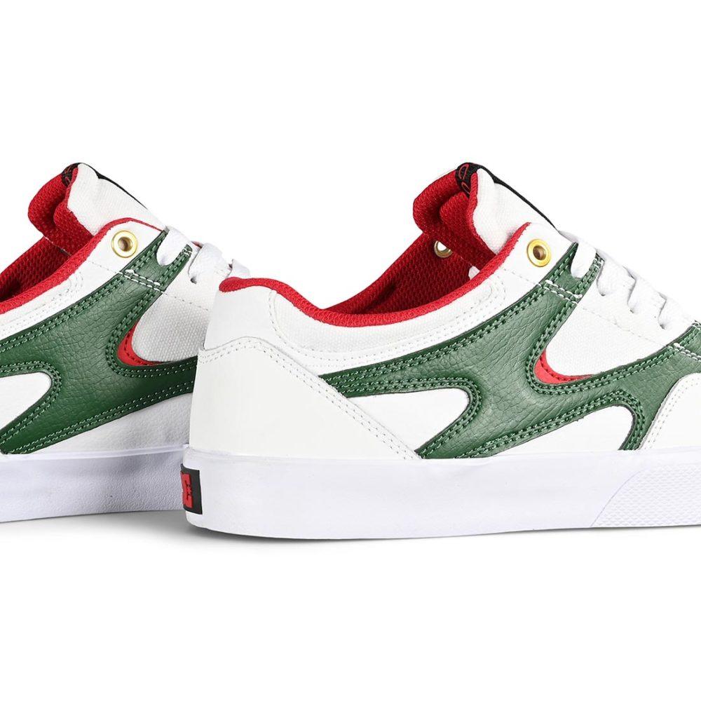 DC Shoes Kalis Vulc - White / Red