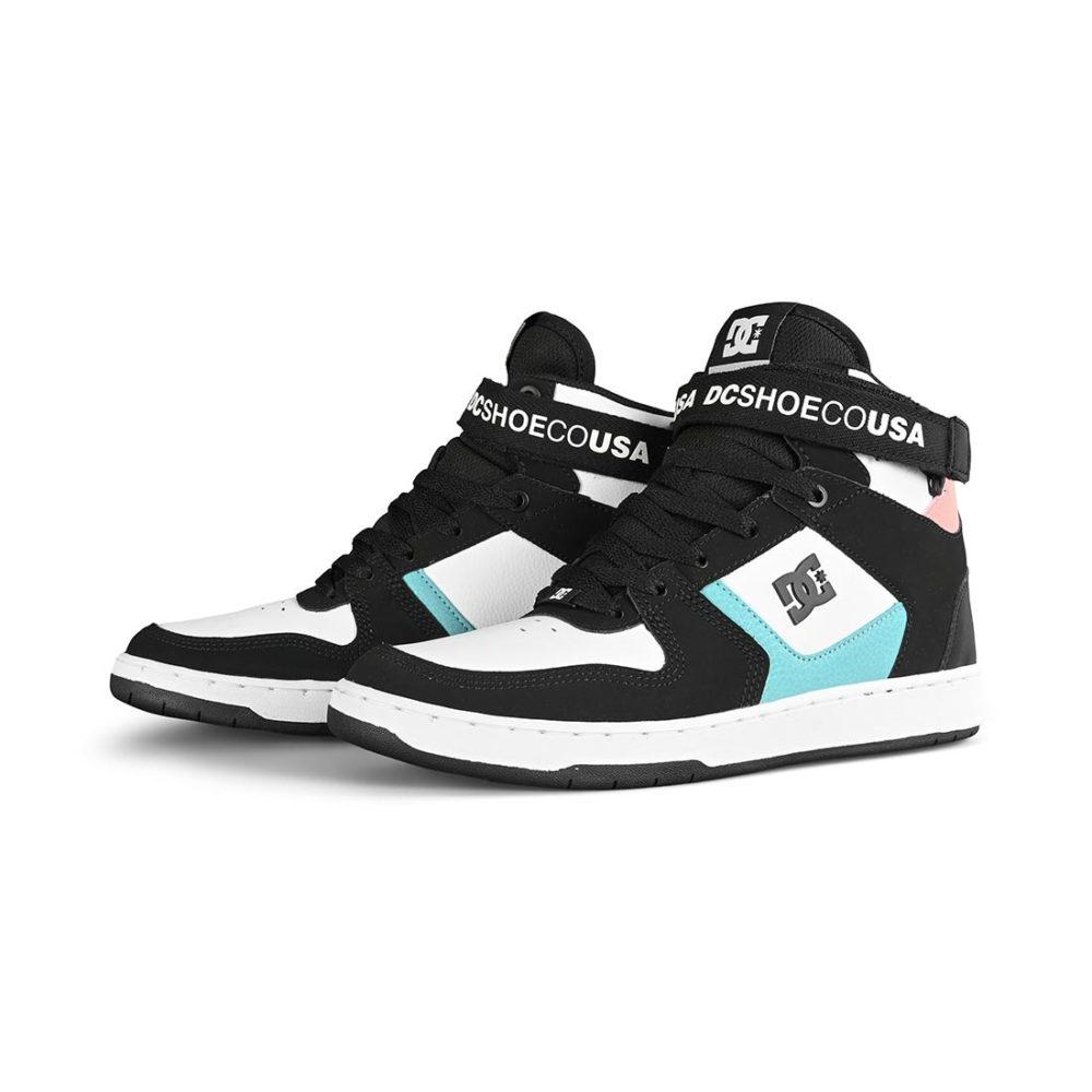 DC Shoes Pensford High-Tops - White / Black / Light Grey