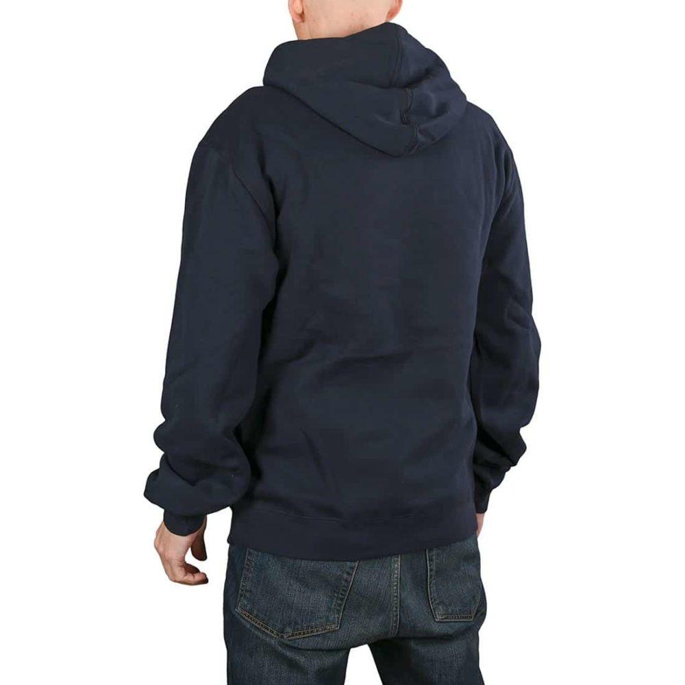 Etnies Corp Combo Pullover Hoodie - Dark Navy