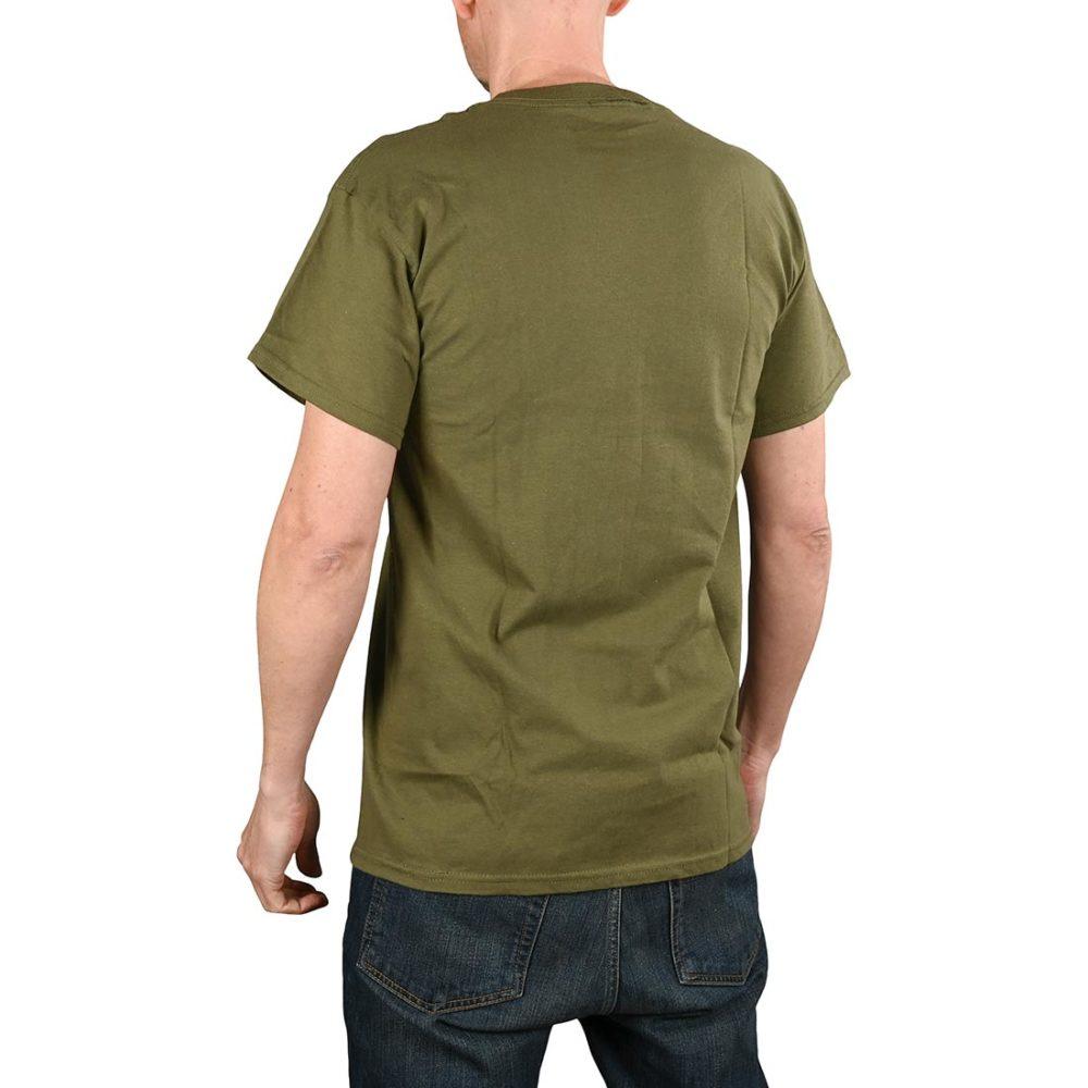 Etnies Corp Combo S/S T-Shirt - Olive