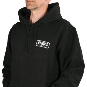 Etnies Quality Control Pullover Hoodie - Black