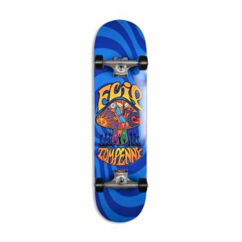 "Flip Tom Penny Loveshroom 8"" Complete Skateboard - Blue"