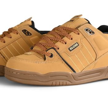 Globe Fusion Skate Shoes - Golden Brown