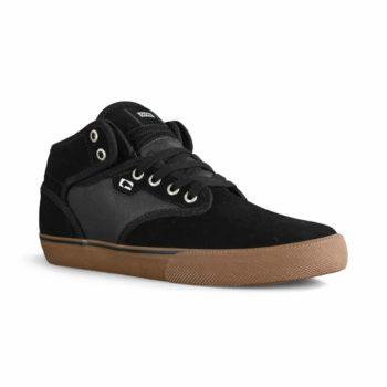 Globe Motley Mid Skate Shoes - Black / Gum / White