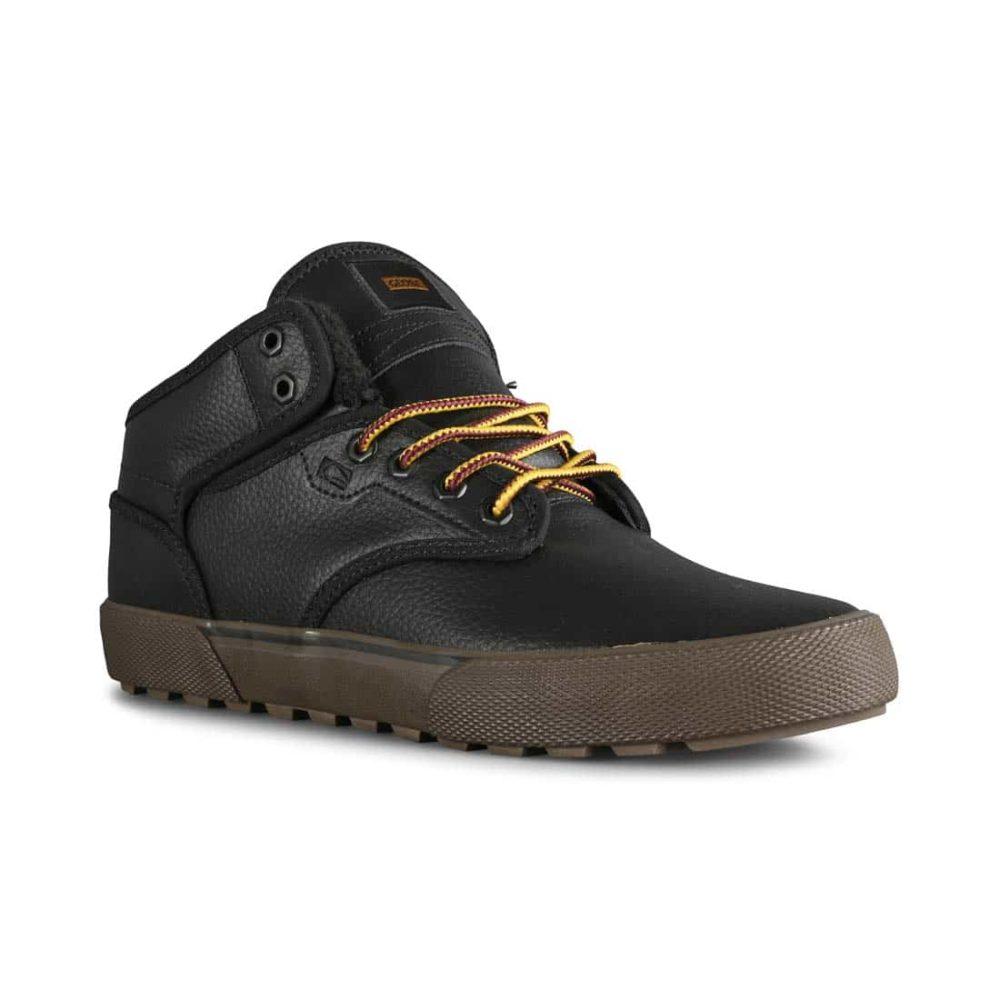 Globe Motley Mid Winterised Shoes - Black / Gum / Summit