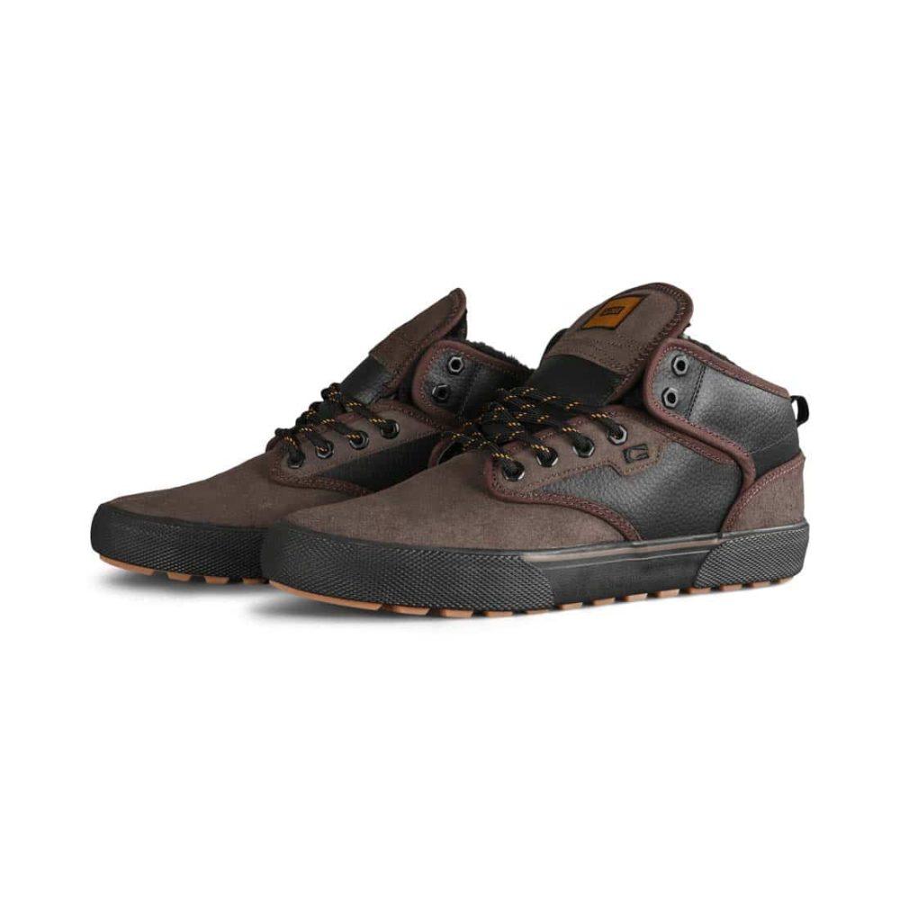 Globe Motley Mid Winterised Shoes - Dark Choco / Black / Summit
