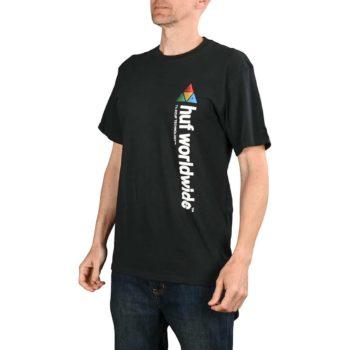 HUF Peak Sportif S/S T-Shirt - Black