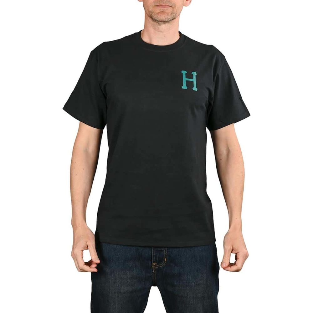HUF Planta Classic H S/S T-Shirt - Black