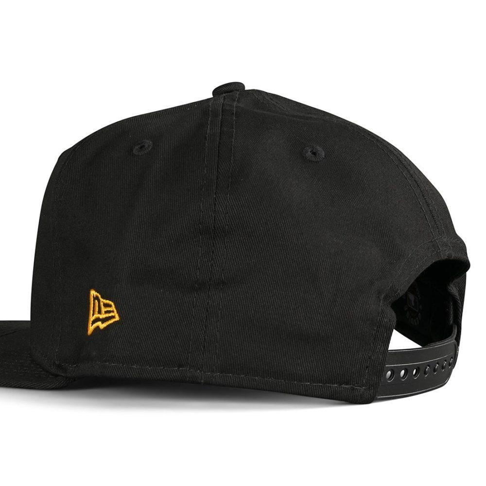 New Era LA Dodgers League Essential 9Fifty Cap - Black / Yellow