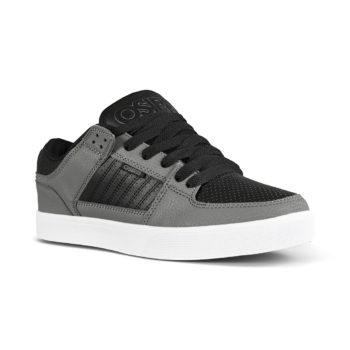 Osiris Protocol Skate Shoes - Charcoal / Black / White