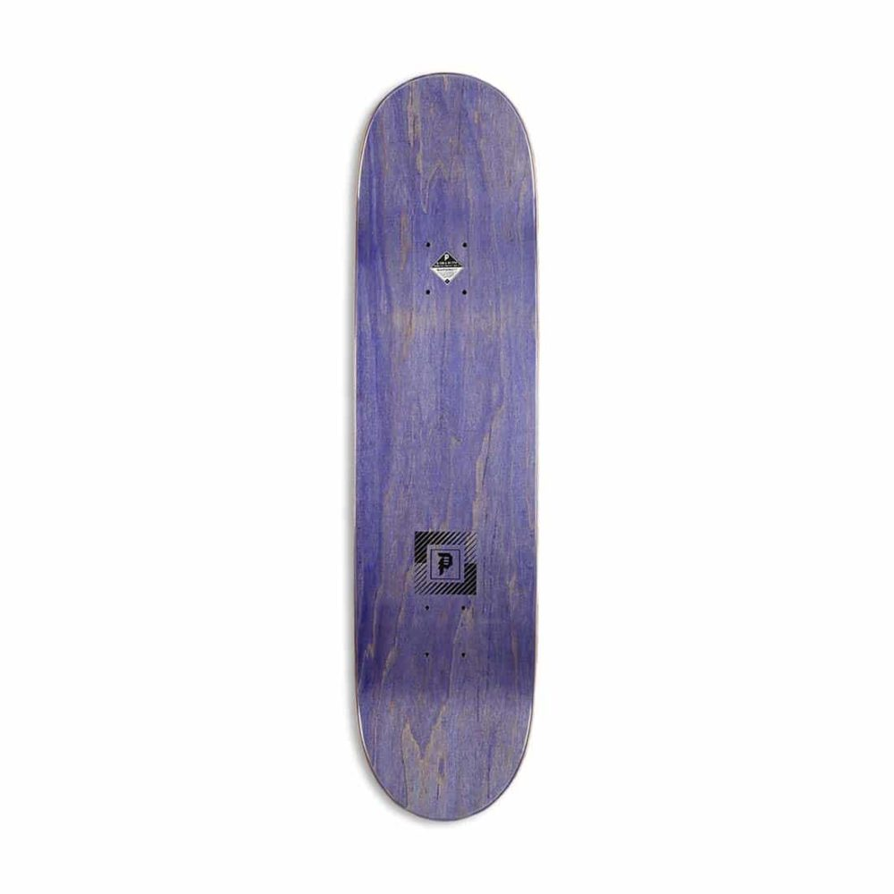 "Primitive Silvas Dive 8.125"" Skateboard Deck - Silver"