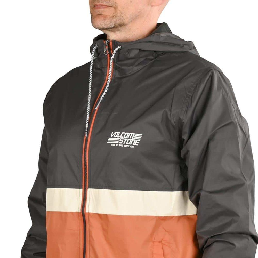 Volcom Ermont Windbreaker Jacket - Burnt Orange