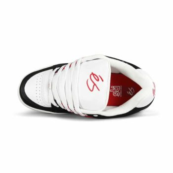 eS Accel OG Skate Shoes - Black / White / Red