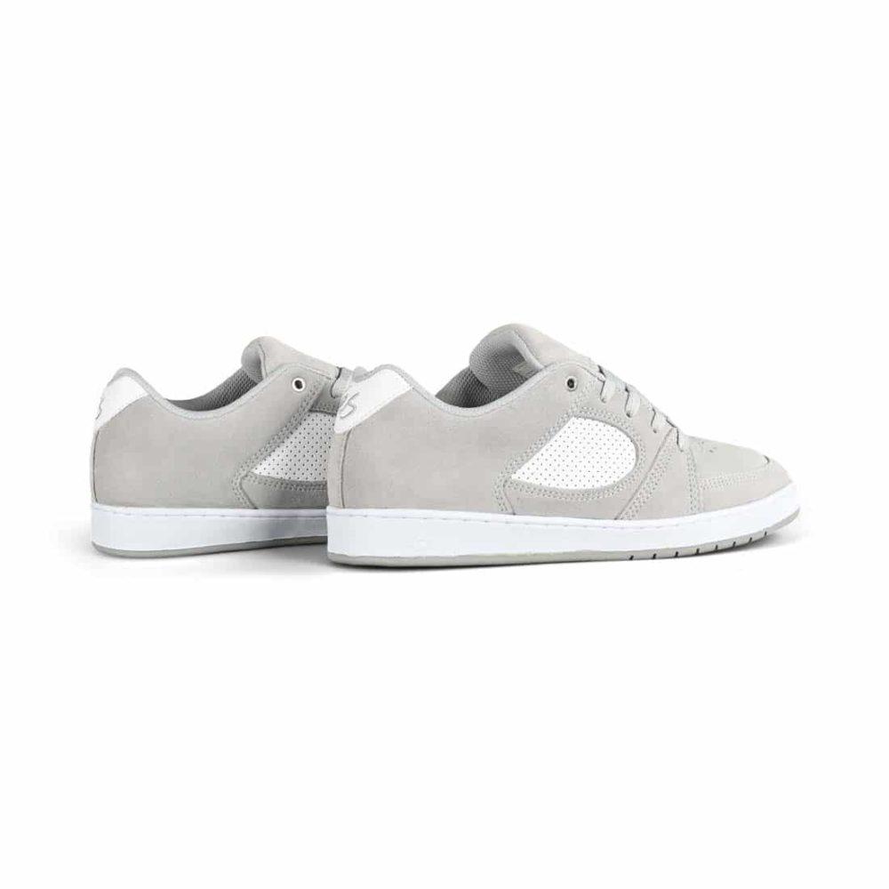 eS Accel Slim Skate Shoes - Grey / White
