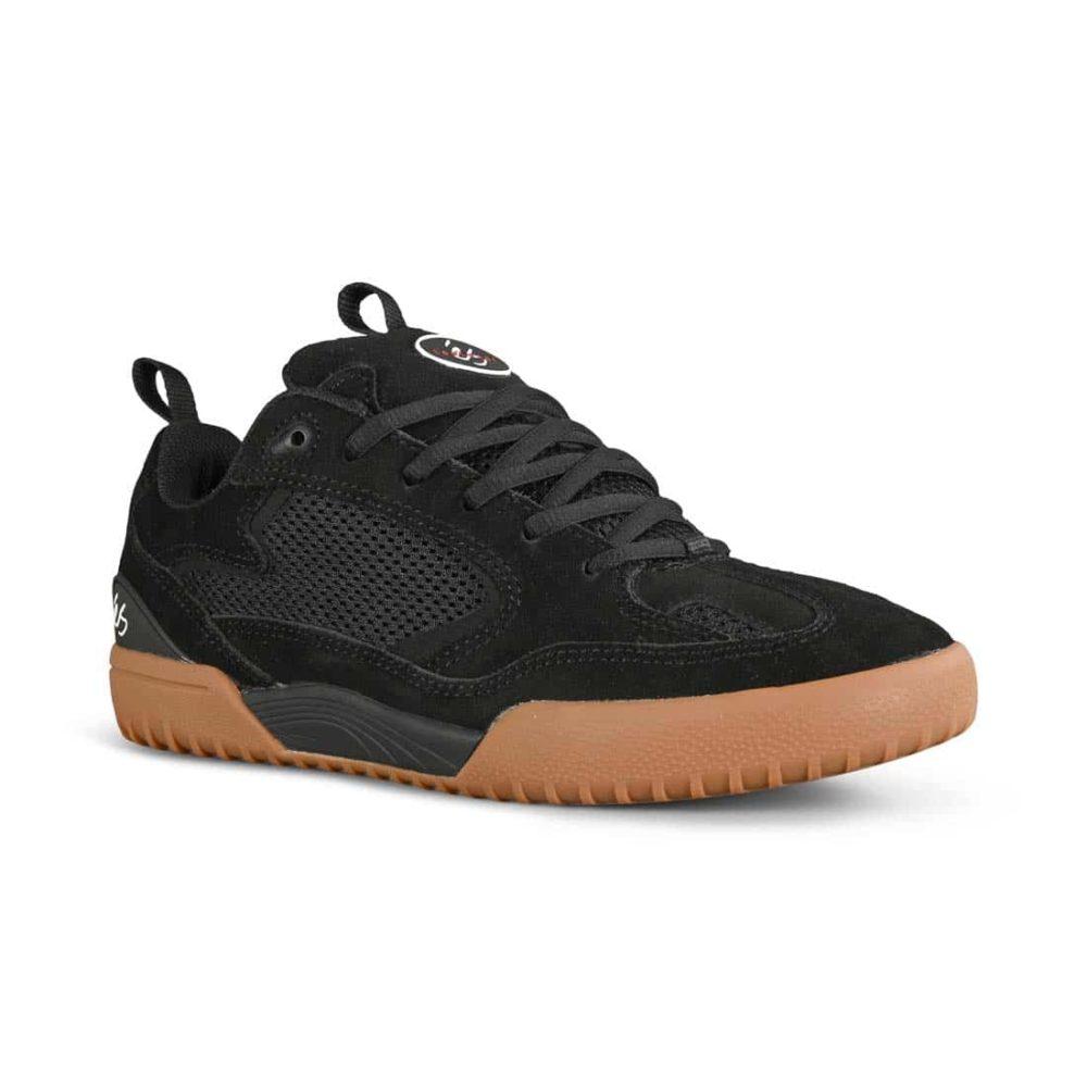 eS Quattro Skate Shoes - Black / Gum