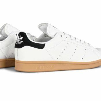 Adidas Stan Smith ADV Skate Shoes - White / Core Black / Gum
