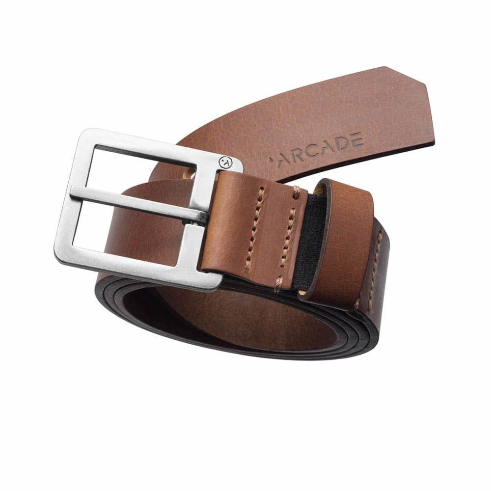 Arcade Padre Leather Belt - Brown