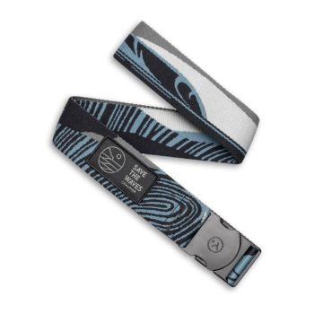 Arcade Rambler Collab Save The Waves Belt - Moody Blue