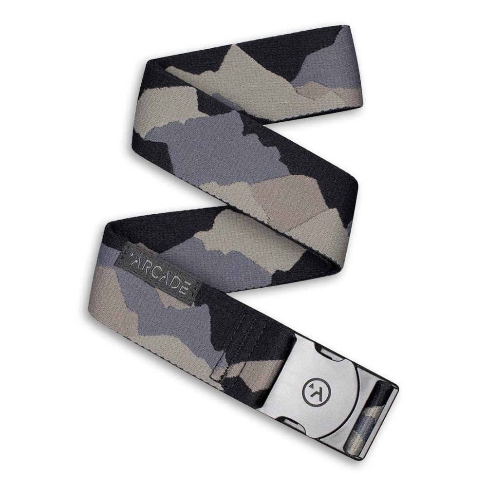 Arcade Ranger Belt - Grey / Peaks Camo