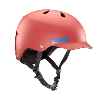 Bern Watts EPS Helmet - Matte Red