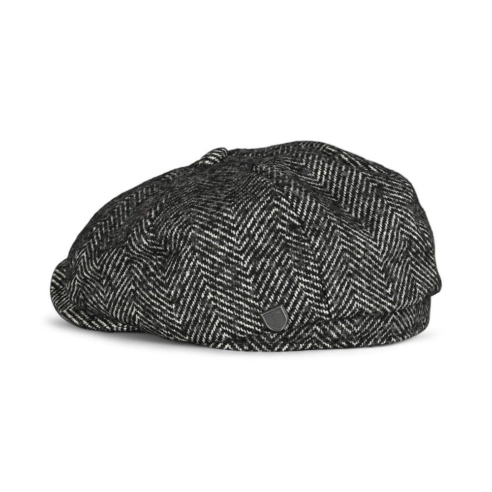 Brixton Brood Baggy Snap Cap - Black / White
