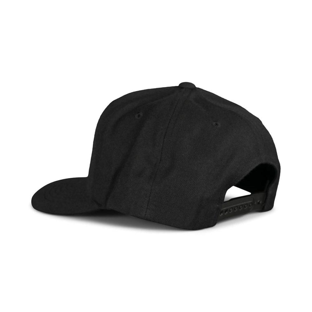 Brixton Crest C MP Snapback Hat - Black