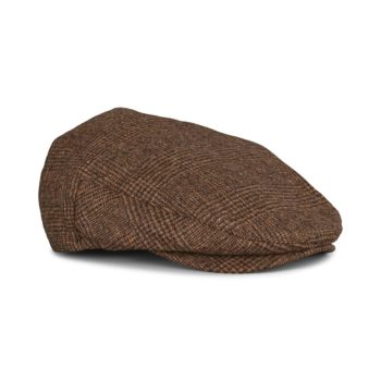 Brixton Hooligan Snap Flat Cap - Amber