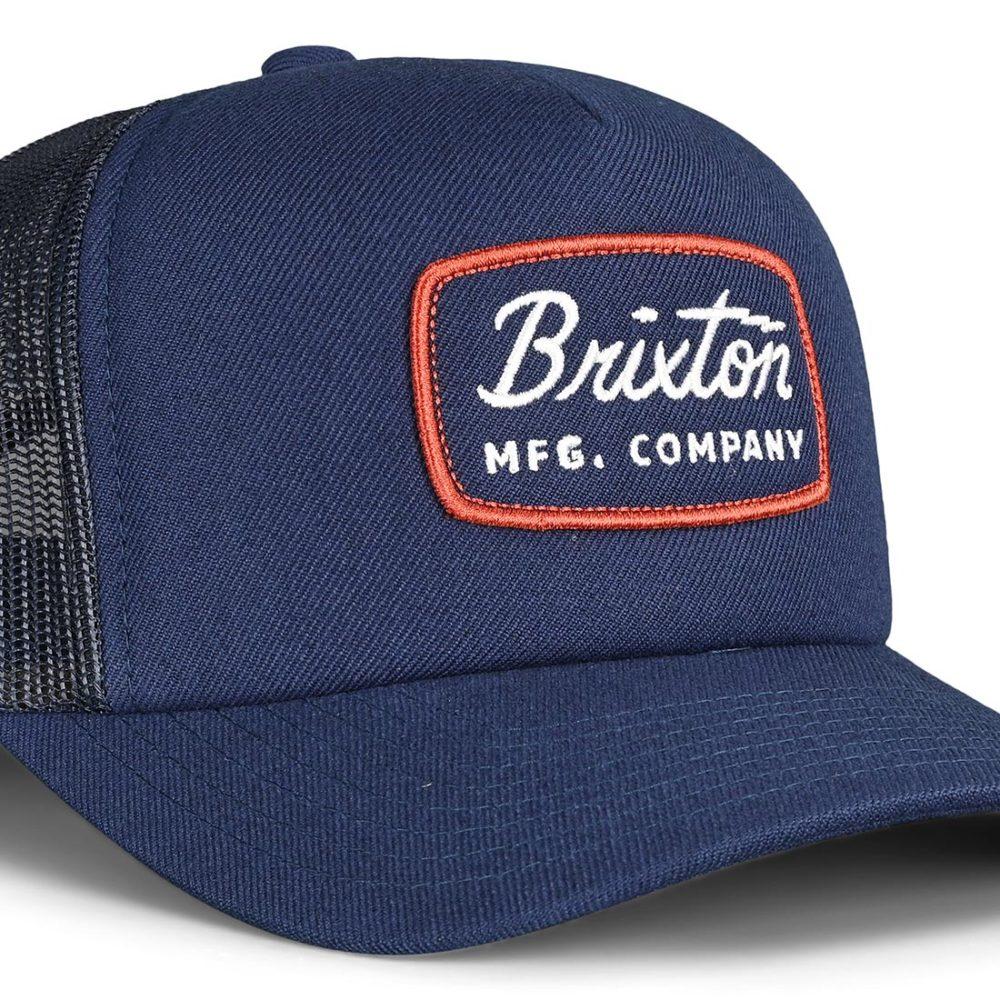 Brixton Jolt MP Mesh Back Trucker Cap - Washed Navy