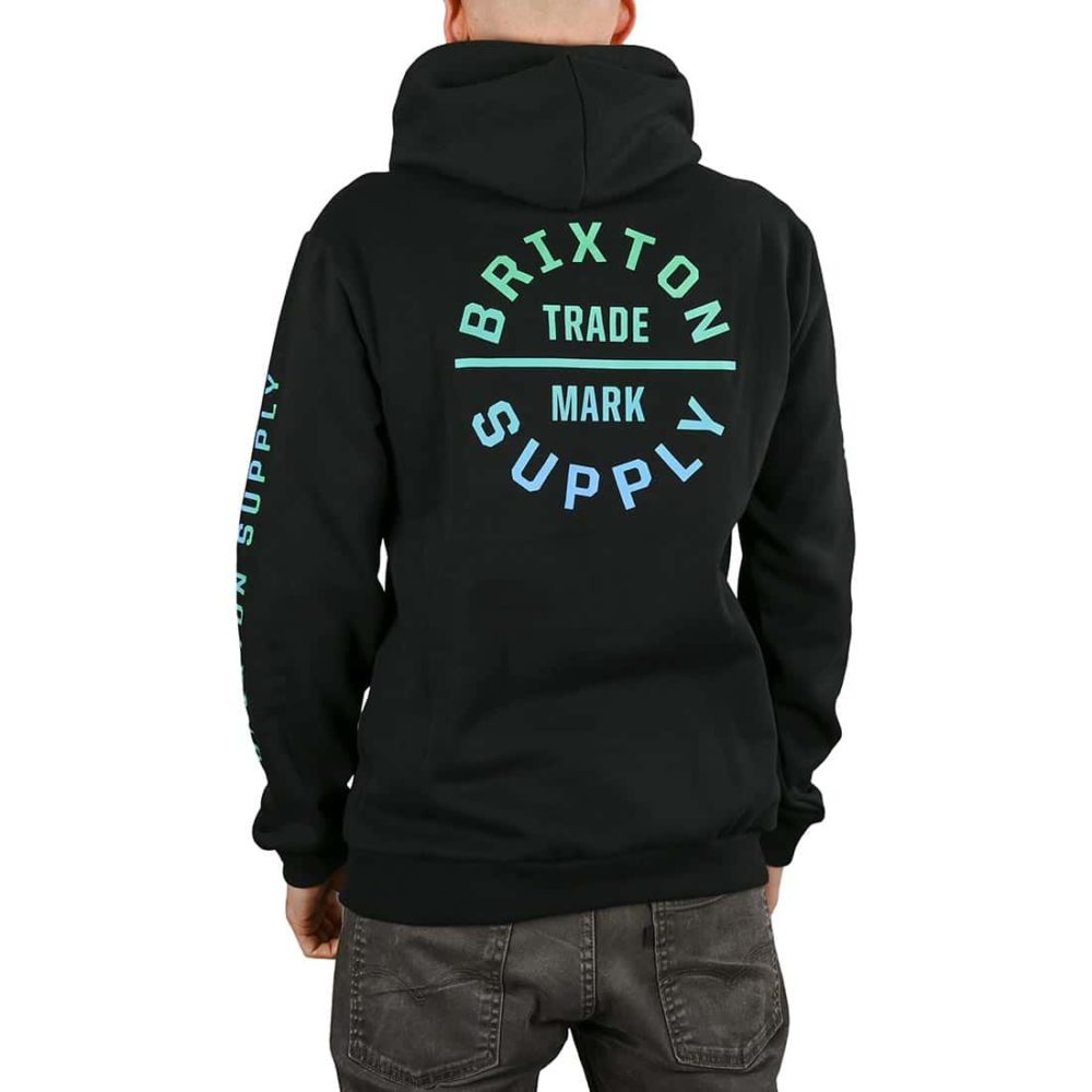 Brixton Oath VI Pullover Hoodie - Black / Gradient