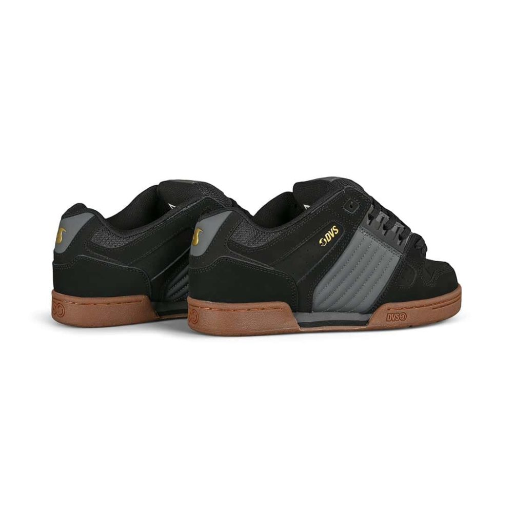 DVS Celsius Skate Shoes - Black / Charcoal / Gum