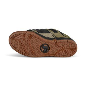DVS Comanche Skate Shoes - Brindle / Burnt Olive / Black Leather