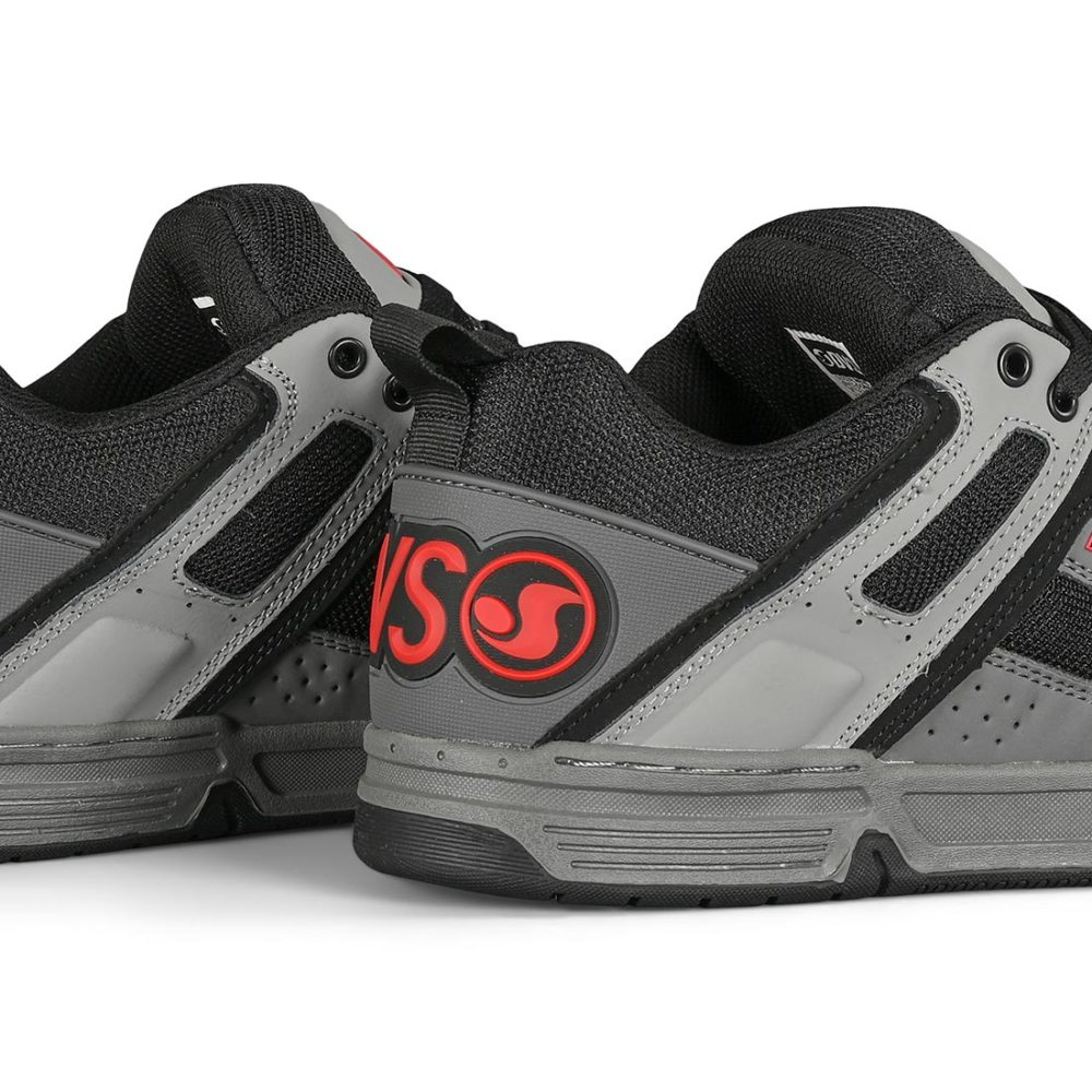 DVS Comanche Skate Shoes - Grey / Charcoal / Black Leather