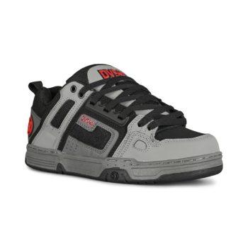 DVS Comanche Skate Shoes - Grey / Charcoal / Black Leather